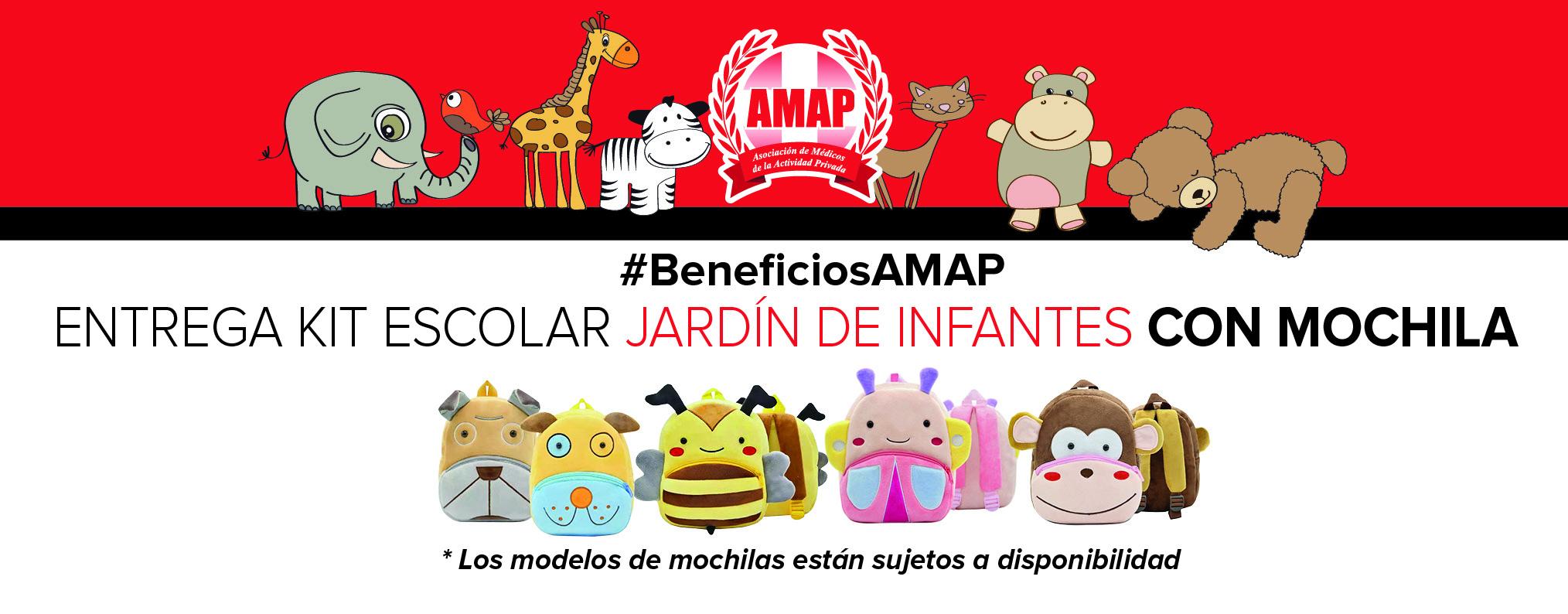 Amap Bolsas De útiles Escolares Para Hijos De Afiliados A La Amap
